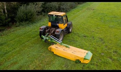 How is it done? Pronar rear mounted disc mower