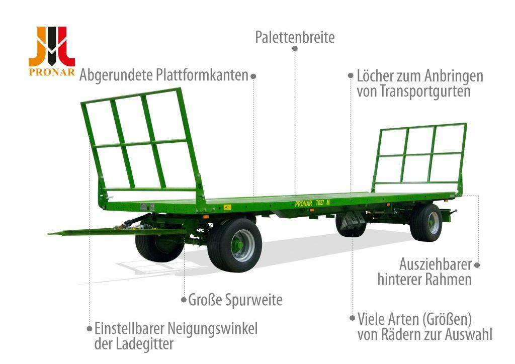Ballentransportwagen Pronar T027M
