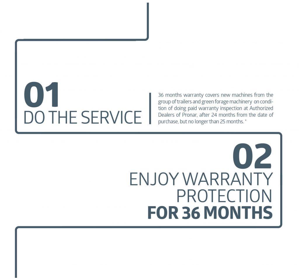 36 months warranty