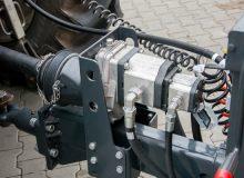 Hydraulics of PRONAR Sweeper ZMC 3.1