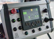 Bedienfeld der Kehrmaschine PRONAR ZMC 3.1