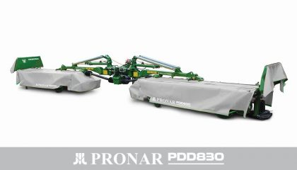Kosiarka dyskowa dwustronna PRONAR PDD830