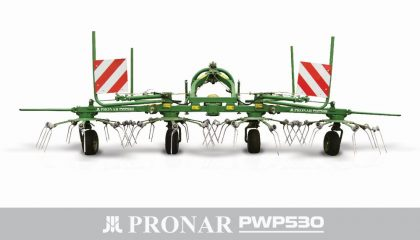 Przetrząsacz pokosów PWP530