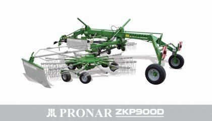 Zgrabiarka dwukaruzelowa ZKP900D