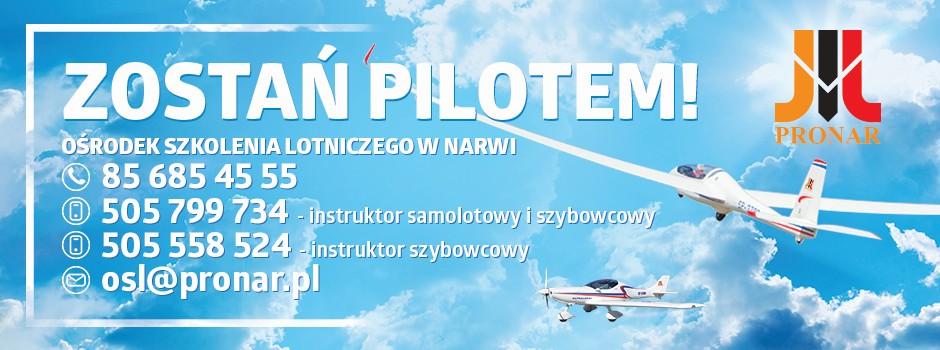 Zostań pilotem z OSL Pronar