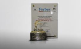 Nagroda Regional Forbes Executive Award 2006 w kategorii Człowiek Roku województwa podlaskiego przyznana Panu Sergiuszowi Martyniukowi współwłaścicielowi firmy Pronar